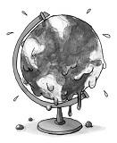 Sweating globe 285x160