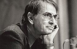 Carl Sagan and the Pale Blue Dot