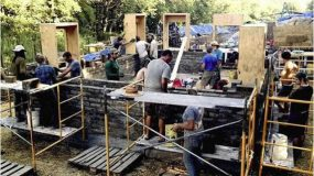 Building an Environmentally Sound House Cheaply, in a Week