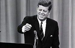 John F. Kennedy, U.S. President