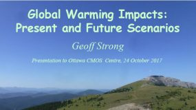 Global Warming Impacts by Geoff Strong