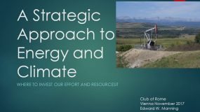 A Strategic Approach to Energy and Climate