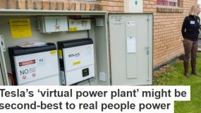 Tesla's 'virtual power plant' might be second-best to real people power