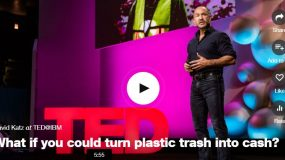 What if you could turn plastic trash into cash