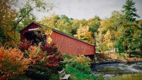 Covered bridge. Photo by Corwin Thiessen on Unsplash