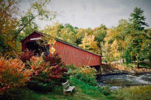 Covered bridge. Photo by Corwin Thiessen on Unsplash