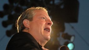 """Al Gore at a Special Outdoor Screening of """"An Inconvenient Truth"""". Grand Performances, Los Angeles, CA. 06-24-06"""