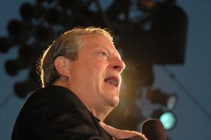 "Al Gore at a Special Outdoor Screening of ""An Inconvenient Truth"". Grand Performances, Los Angeles, CA. 06-24-06"