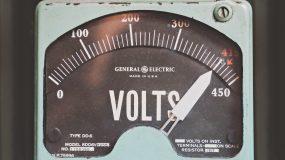 Vintage voltmeter