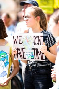 Fridays for future - global climate strike on the European elections