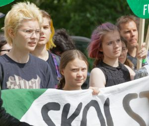 Greta Thunberg and the Global Strike For Future, a demonstration