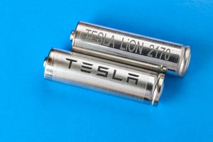 Tesla automotive-grade lithium-ion battery cells