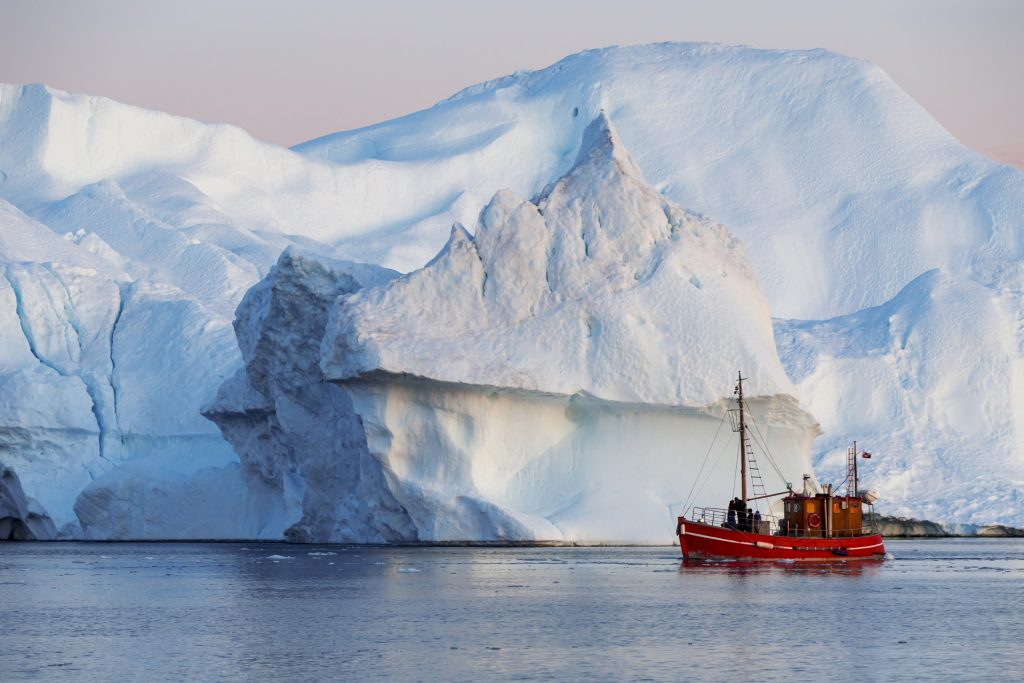 Ice landscapes of Greenland