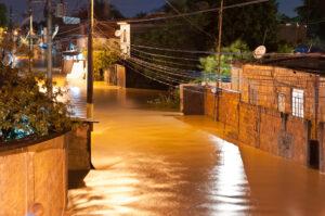 Flooding in Nova Iguacu, Rio de Janeiro, Brazil - December 6, 2013