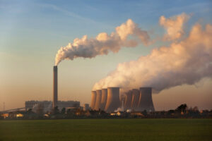 A coal fired power station in Lincolnshire in the United Kingdom.